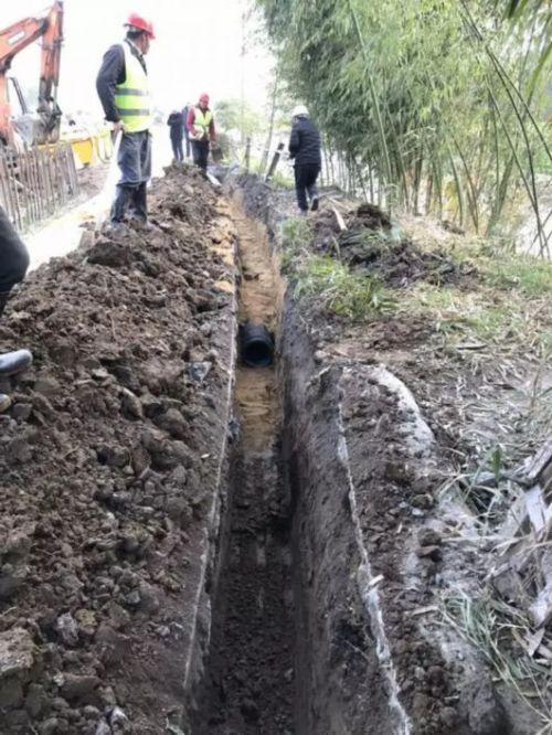 黄浦管道开挖修复更换