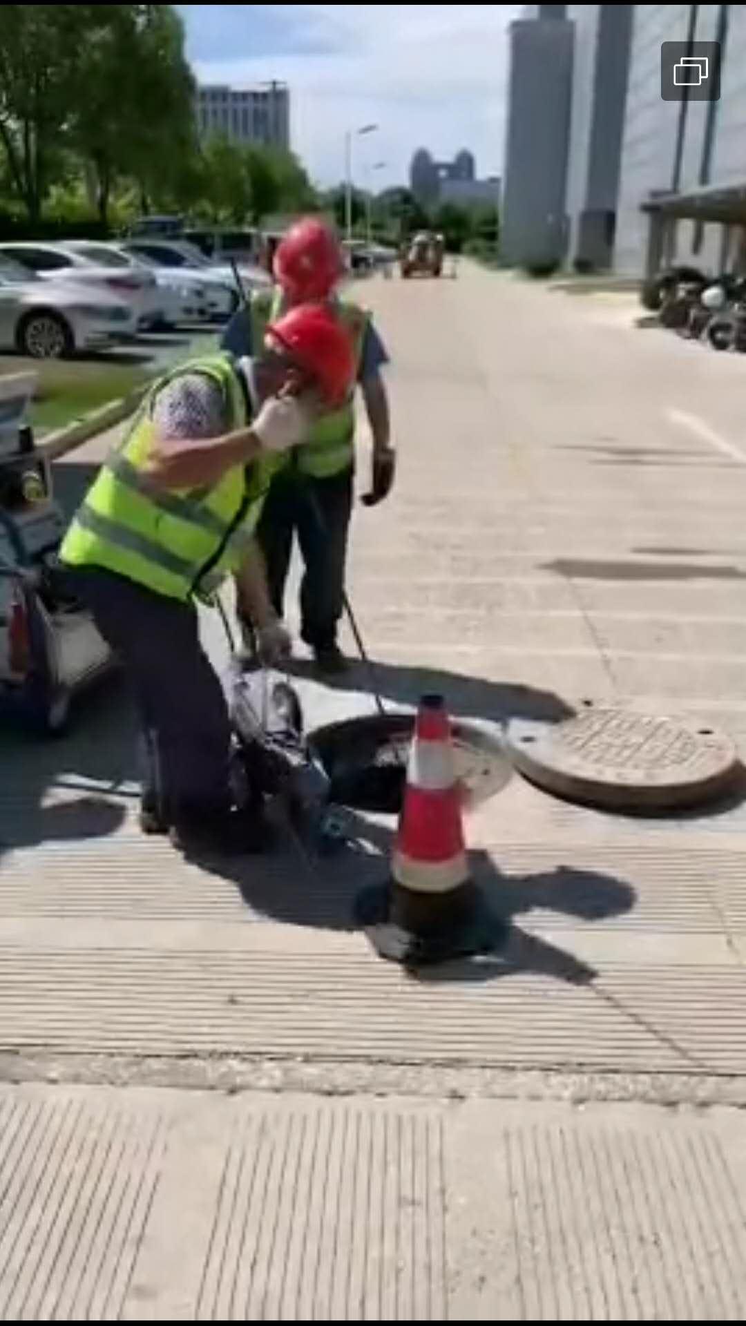 卢湾污水管道总排口CCTV检测