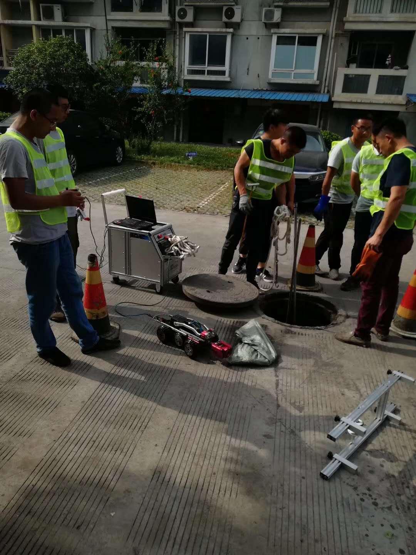 上海道路CCTV检测管道-上海管道检测机器人