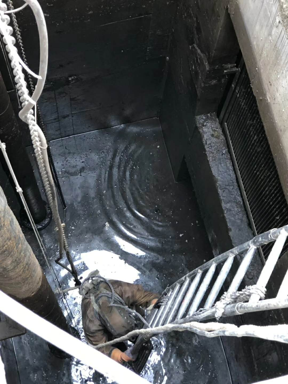 普陀集水池清理