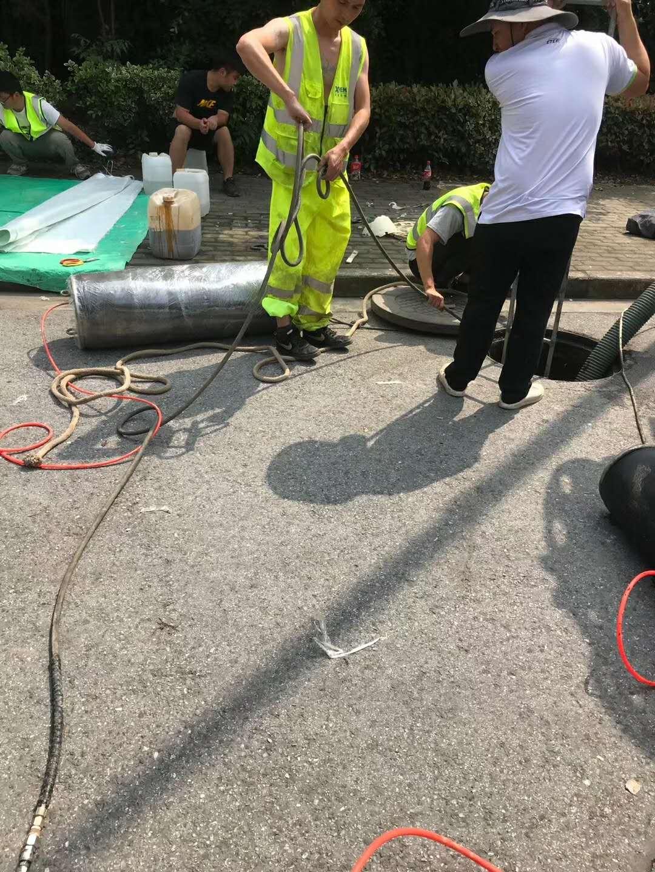 卢湾污水管道缺陷修复
