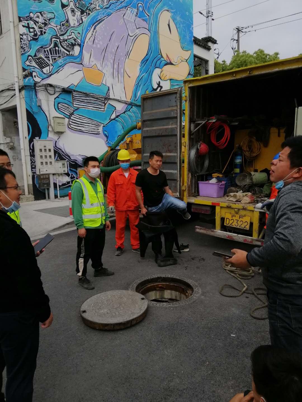 上海市政蛙人潜水封堵