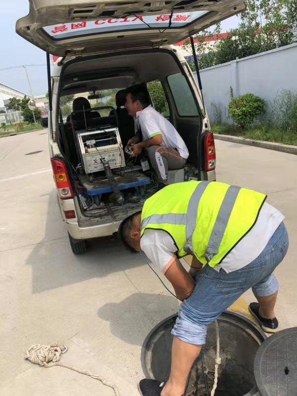 上海給水管道cctv檢測