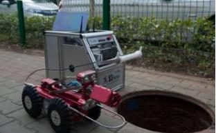 上海管道检测机器人是如何操作的?