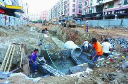 上海管网改造